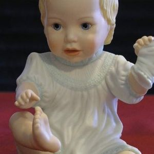 """Lenox Figurine - """"Baby's First Shoes"""